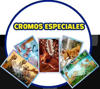 Cromos especiales