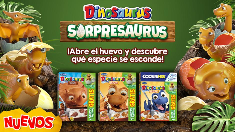 Dinosaurus Sorpresaurus. ¡Abre el huevo y descubre qué especie se esconde!