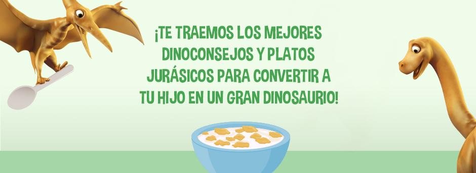 Dinoconsejos y platos jurasicos