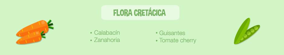 plato jurasico-ingredientes flora cretacica