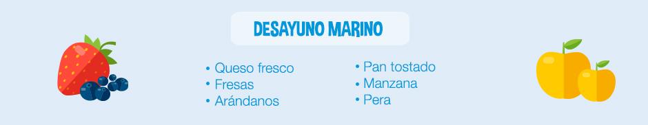 plato jurasico-ingredientes desayuno marino