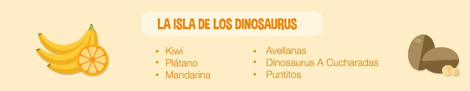 plato jurasico_ingredientes la isla de los dinosaurus